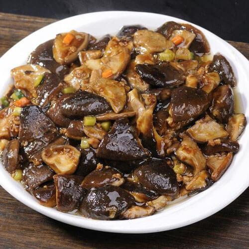 美味香菇肉末