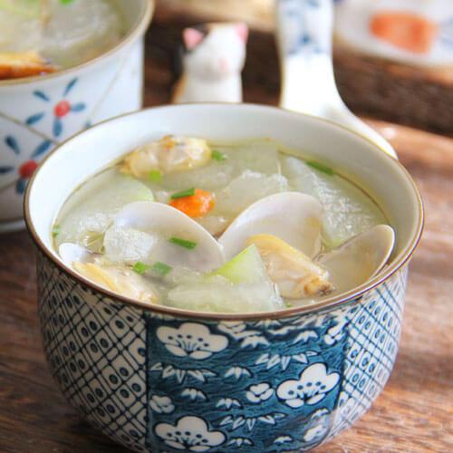 虾球冬瓜汤