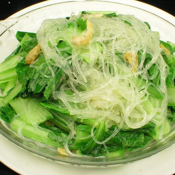 大骨汤青菜粉