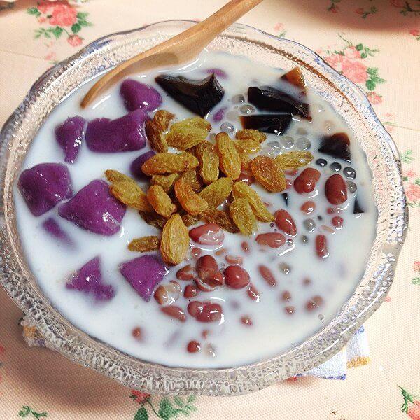 奶香自制椰奶芋圆