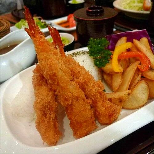 蒜香酥脆大虾
