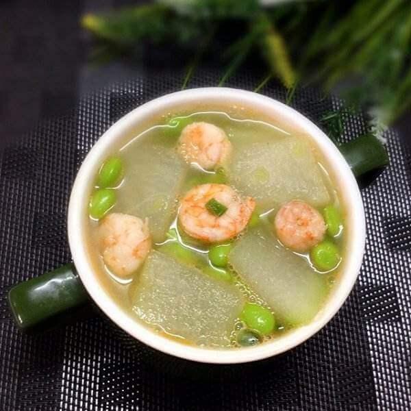 #DIY美食#木耳菜虾仁汤