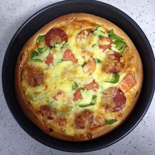 香菇小披萨