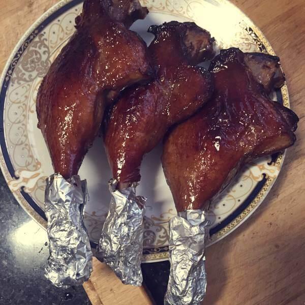 烤鸡翅烤鸭腿