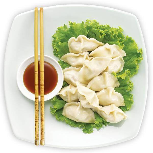 瘦肉金针菇水饺