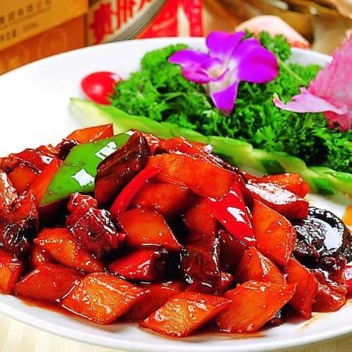 牛肉牛筋红烧豆干