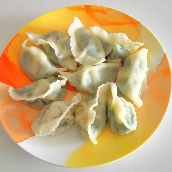 韭菜虾片鸡蛋饺子