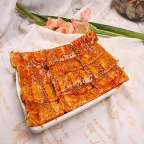 美味烤干豆腐