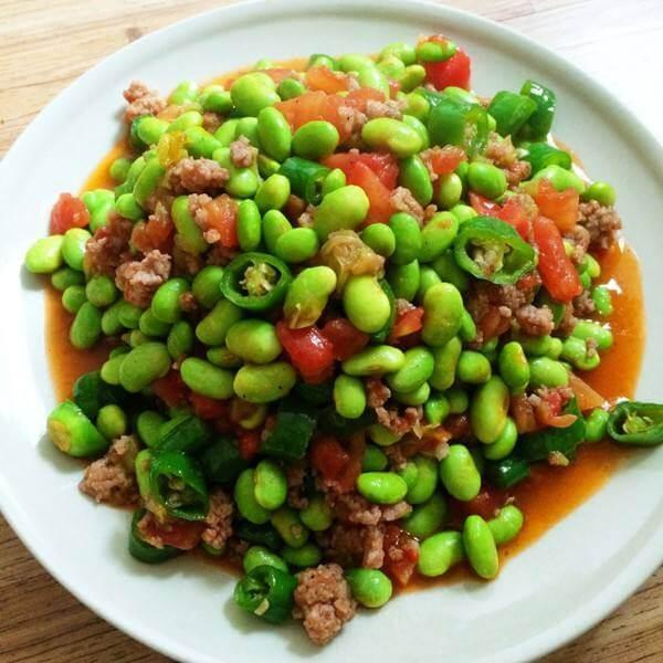 番茄青椒肉末