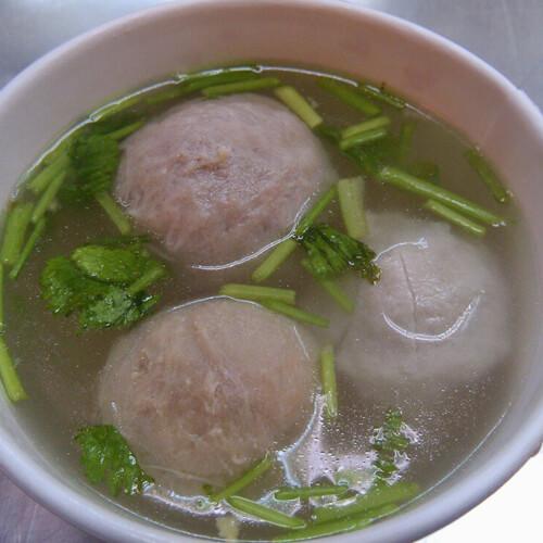 香菇贡丸汤