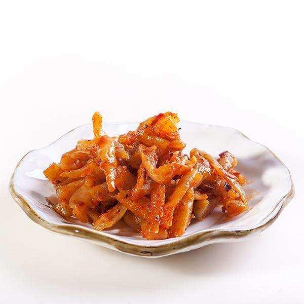 健康美食之椒香辣萝卜条