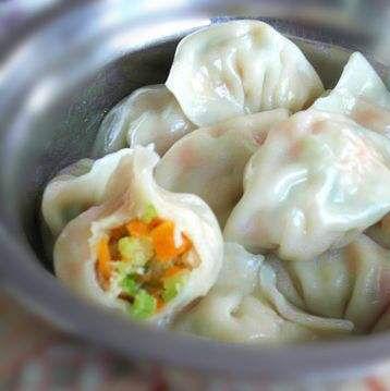 西芹胡萝卜饺子