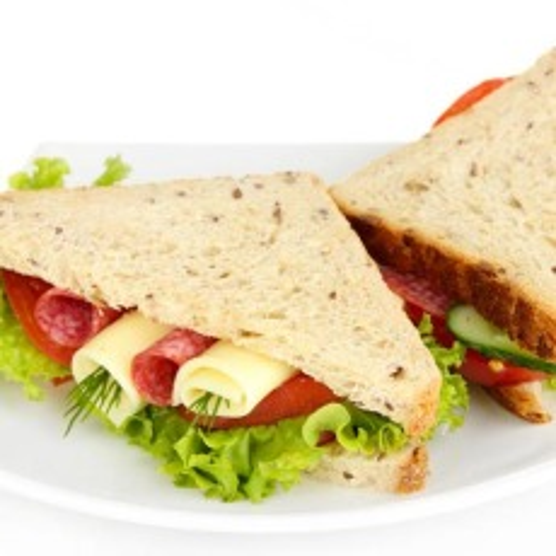 北极虾三明治