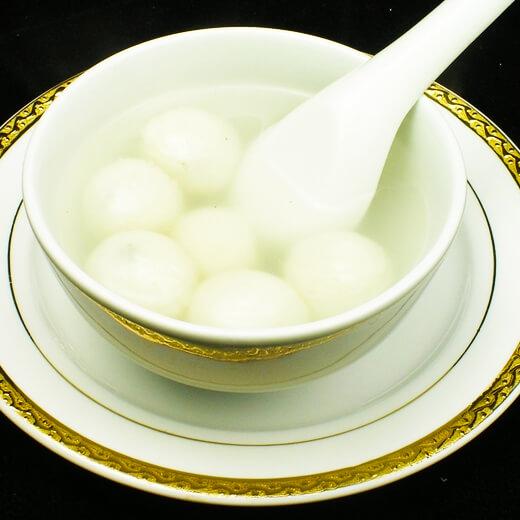 桂花奶香汤圆