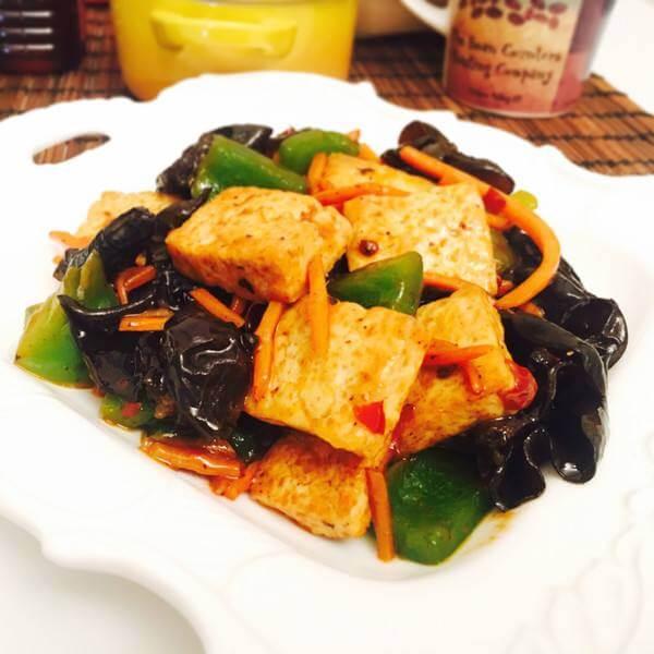 红烧卤水豆腐