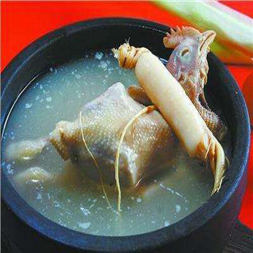 特色韩式人参鸡汤