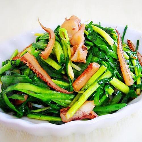 美丽的【手工美食】香草韭菜