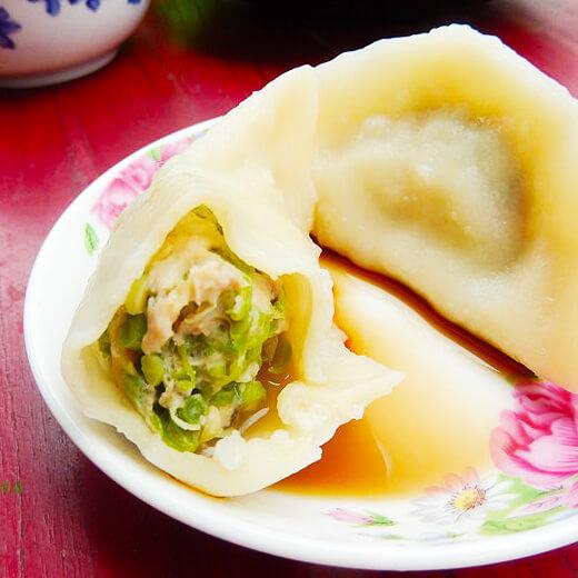 芹菜豆角饺子