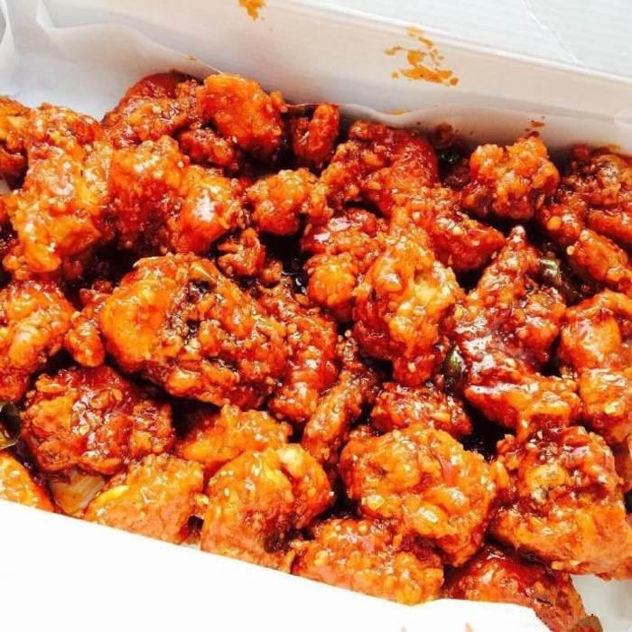 美味韩式果酱炸鸡