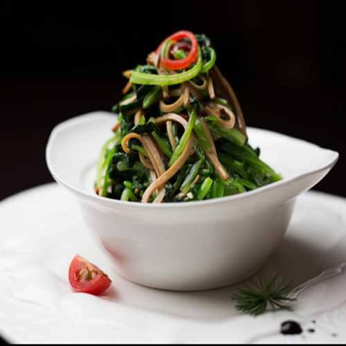 易做的豆腐丝拌菠菜