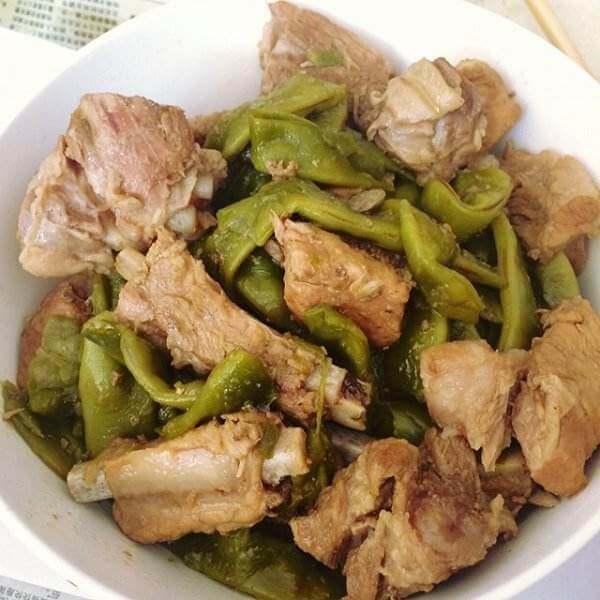 清淡的猪肉雪菜炖豆角