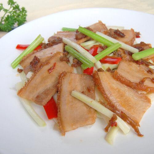 豆豉炒荞菜