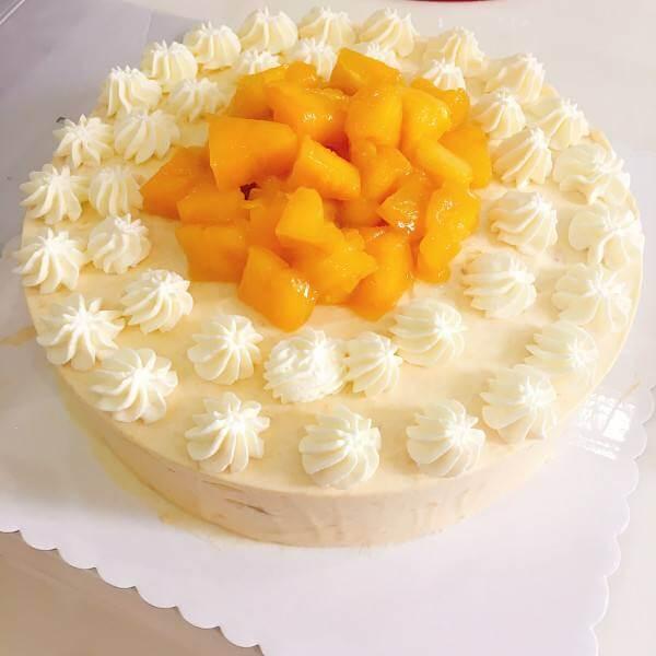 芒果小清新蛋糕