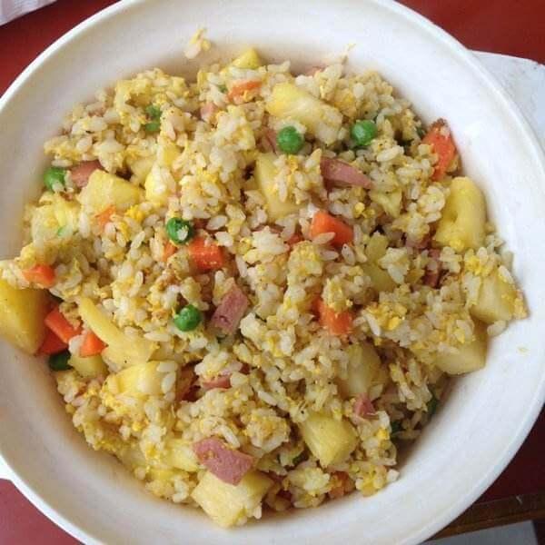 #特色菜#菠萝炒米饭