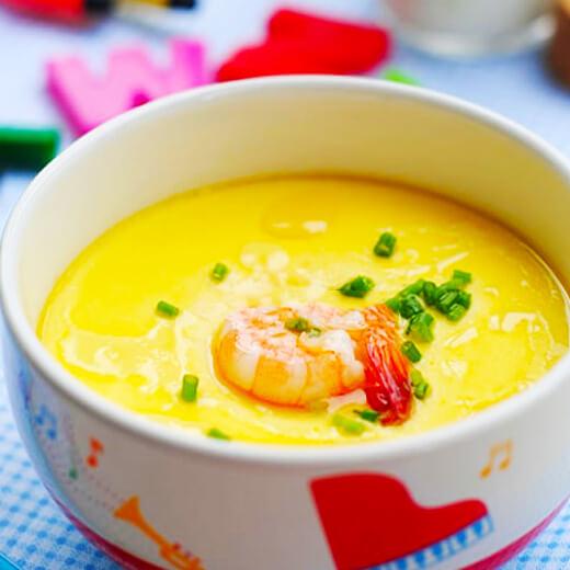 黄瓜虾皮蒸蛋