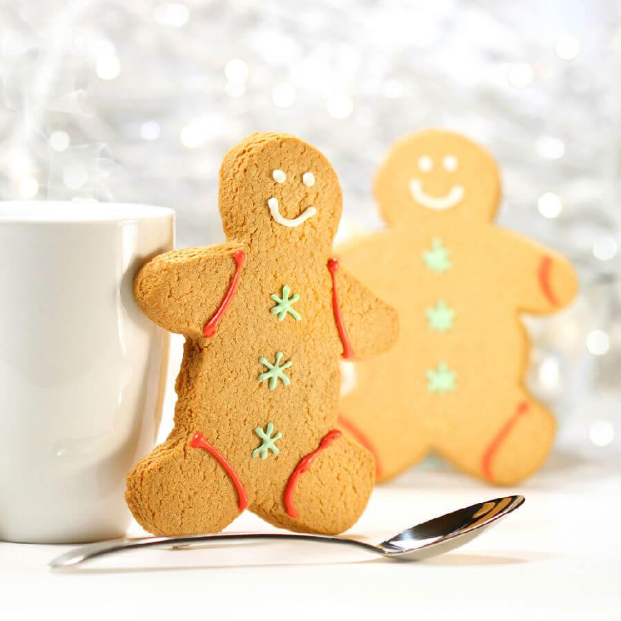 咖啡小人儿饼干