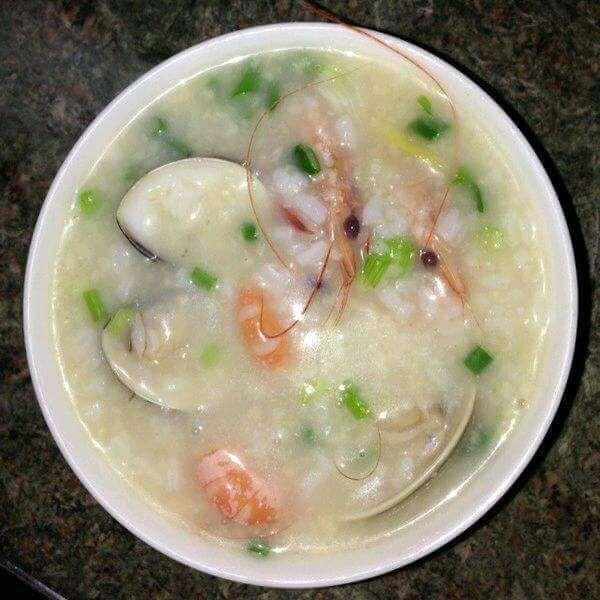 乱炖营养海鲜粥