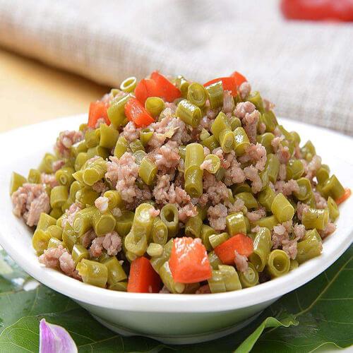 泡椒烂肉豇豆