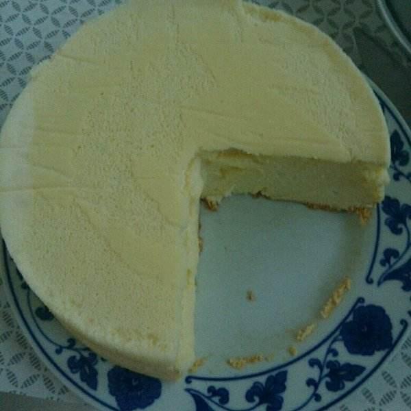 美味的自制酸奶蛋糕
