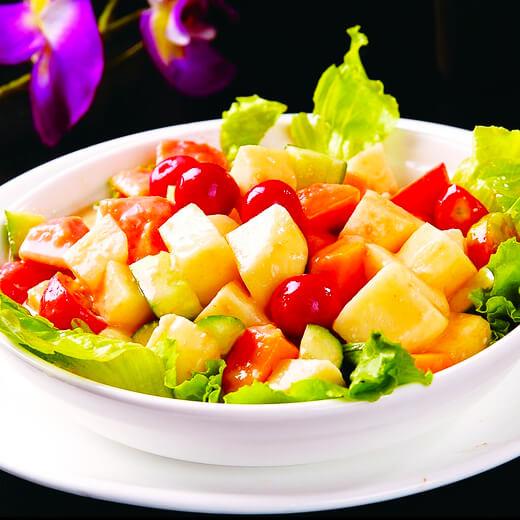 梨汁蔬菜沙拉