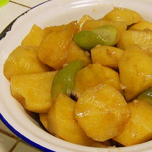 土豆烩丝瓜