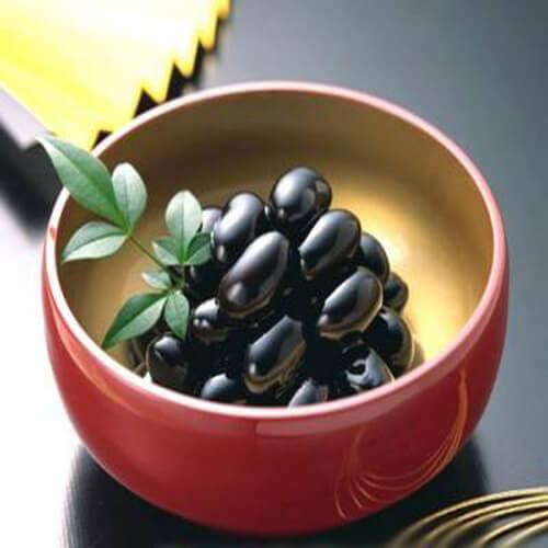 美味的素炖变色豆