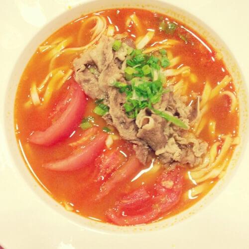 香菇番茄汤