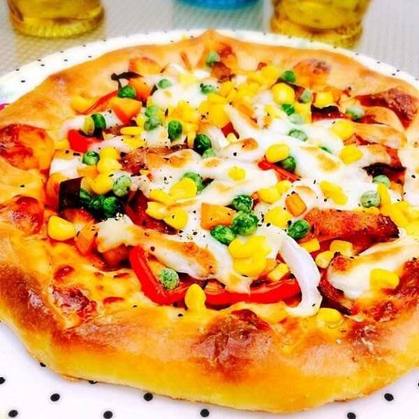 土司微型披萨