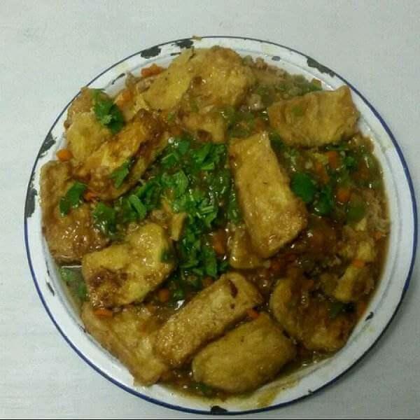 柠檬汁豆腐