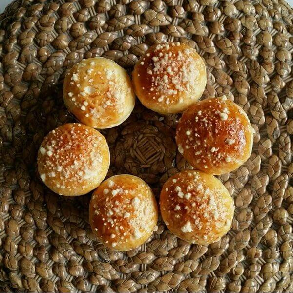 酥粒葡萄干面包