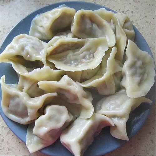 水煮东北饺子