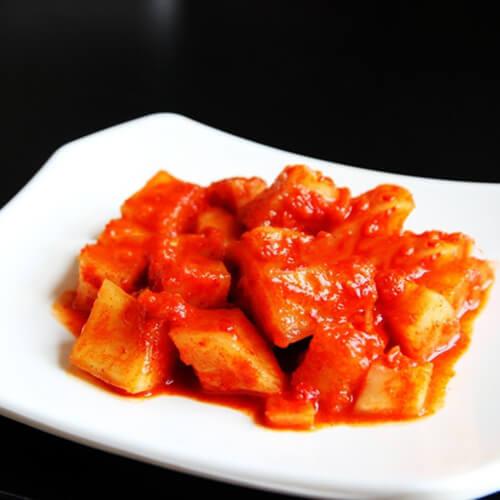 韩式辣萝卜皮