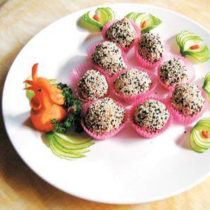 虫草翡翠拌杂菜