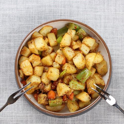 香煎黑椒土豆