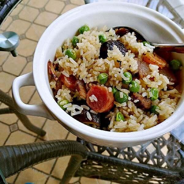 酸菜焖麦豆