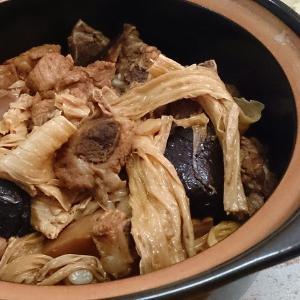 排骨煲冬菇