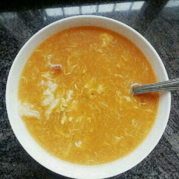 西红柿酱疙瘩汤
