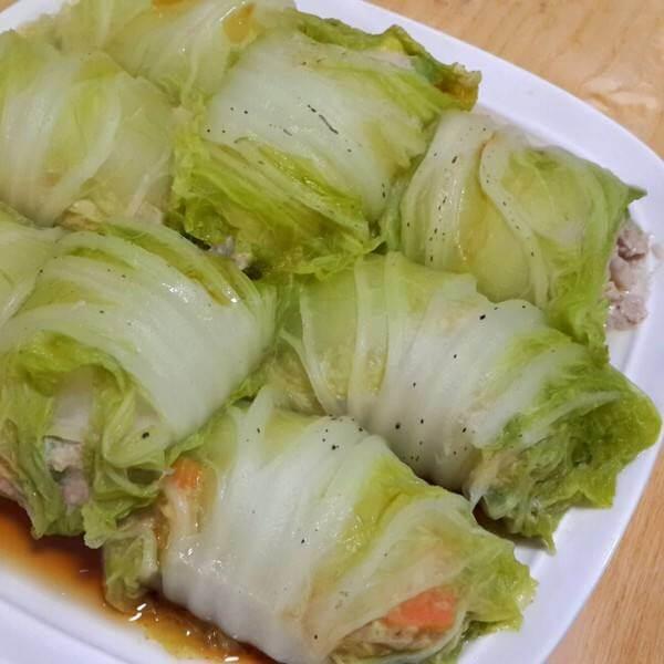 白菜鲜味卷