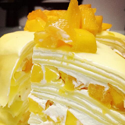 芒果千层小蛋糕