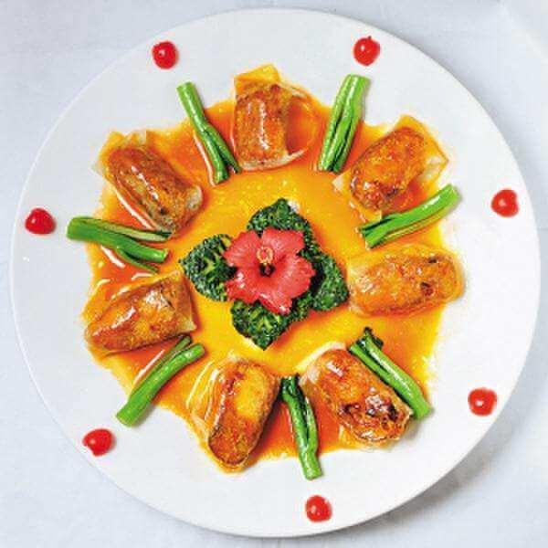 爱美食-金黄三茄